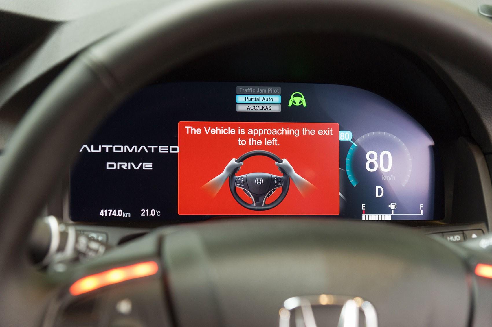 The Cars Are Taking Over We Test Autonomous Honda