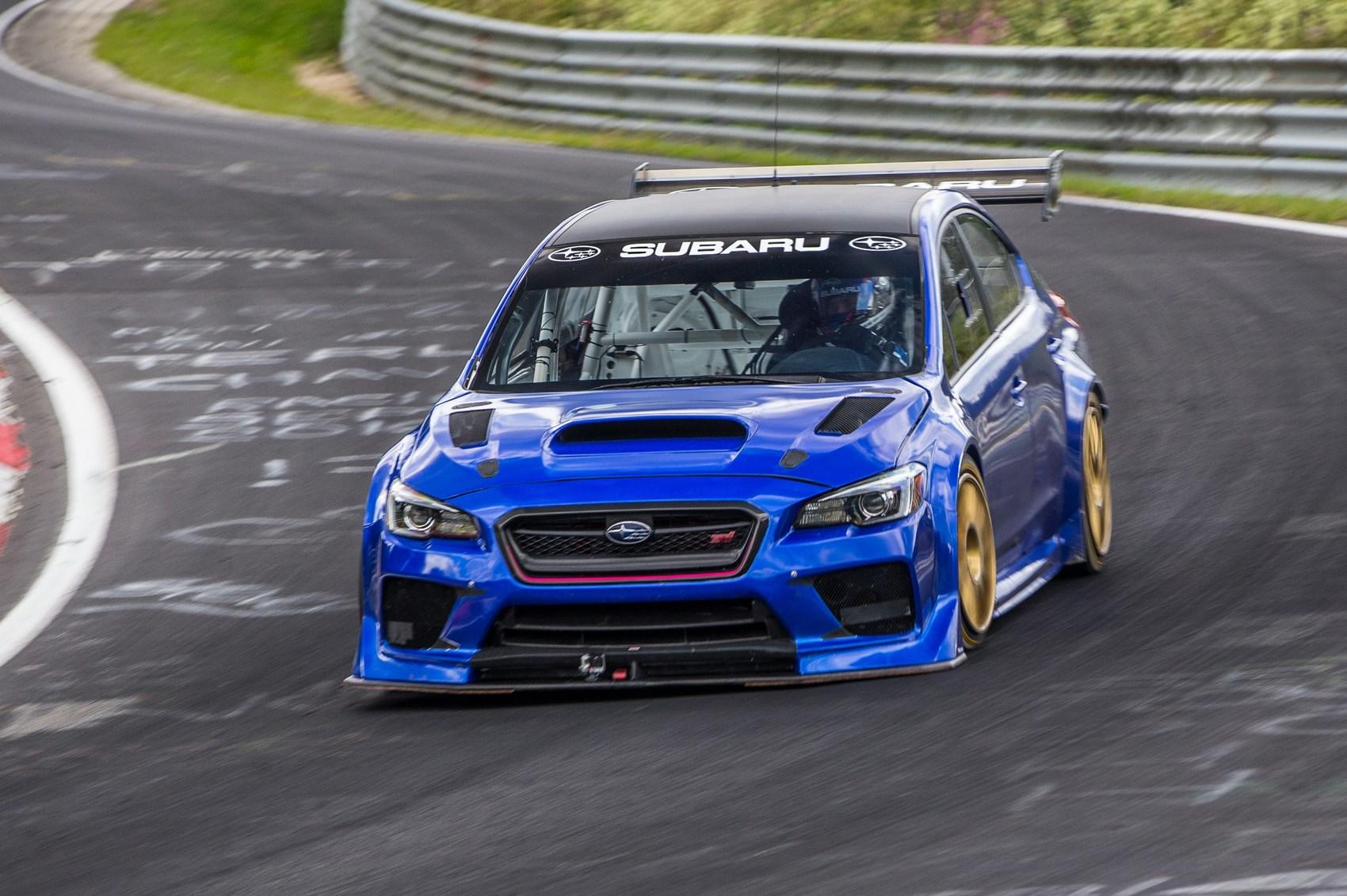 Sti Type Ra >> Subaru Wrx Sti Type Ra Nbr Special Thrashes Ring Record
