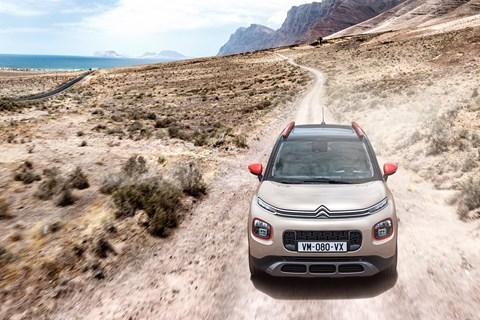 Citroen C3 Aircross front end tracking