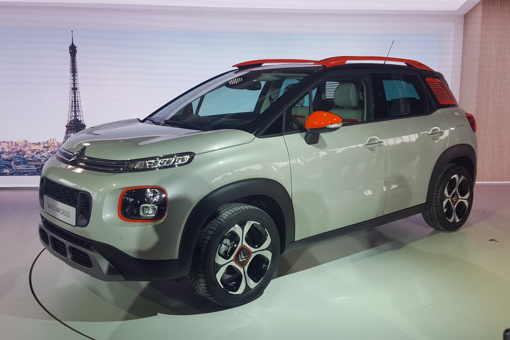 citroen c3 aircross pictures specs and info by car magazine. Black Bedroom Furniture Sets. Home Design Ideas