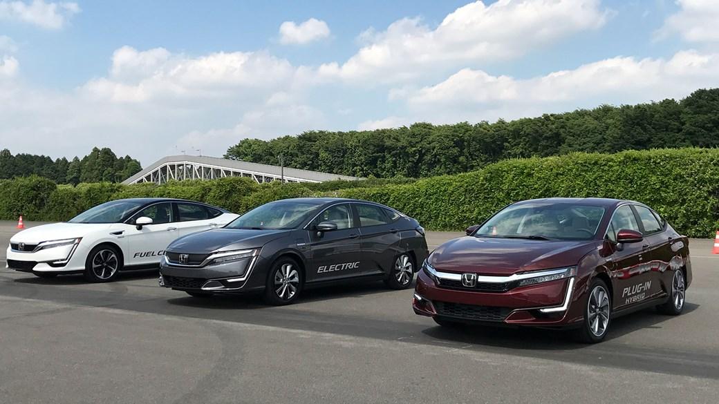 Honda Clarity Reviews Electric Vs Hybrid Vs Hydrogen Tech Test