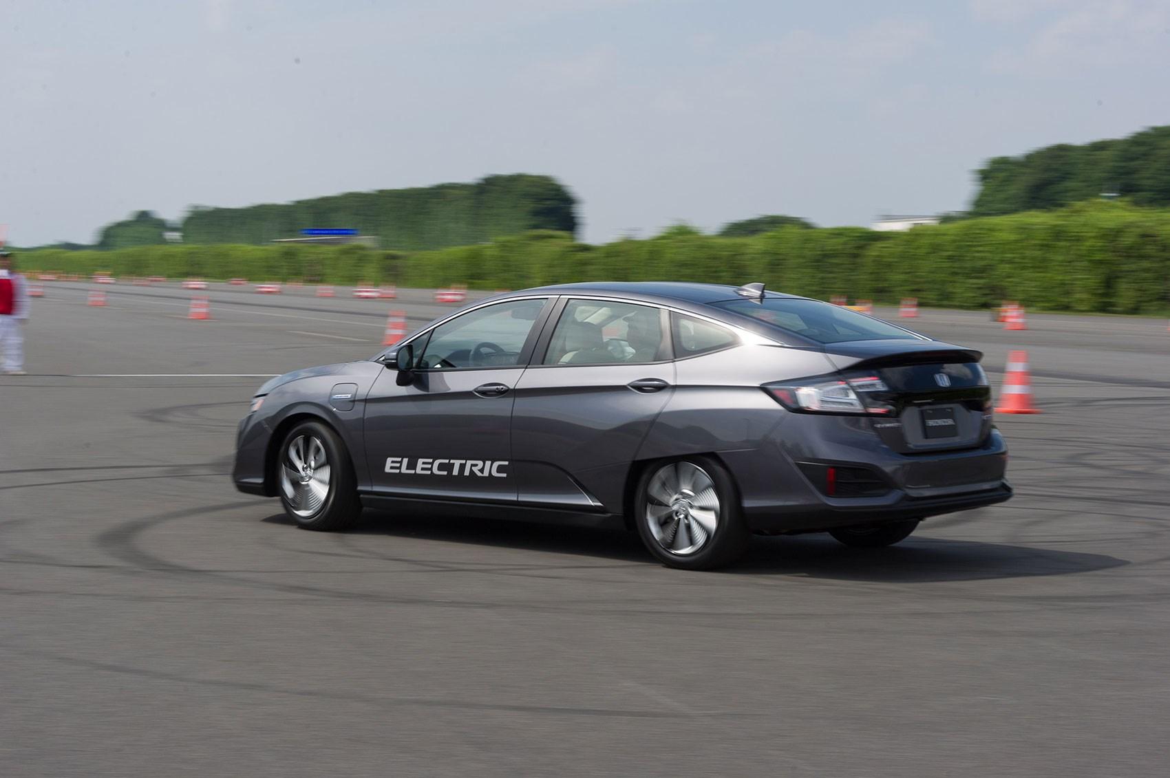 Honda Clarity BEV electric car