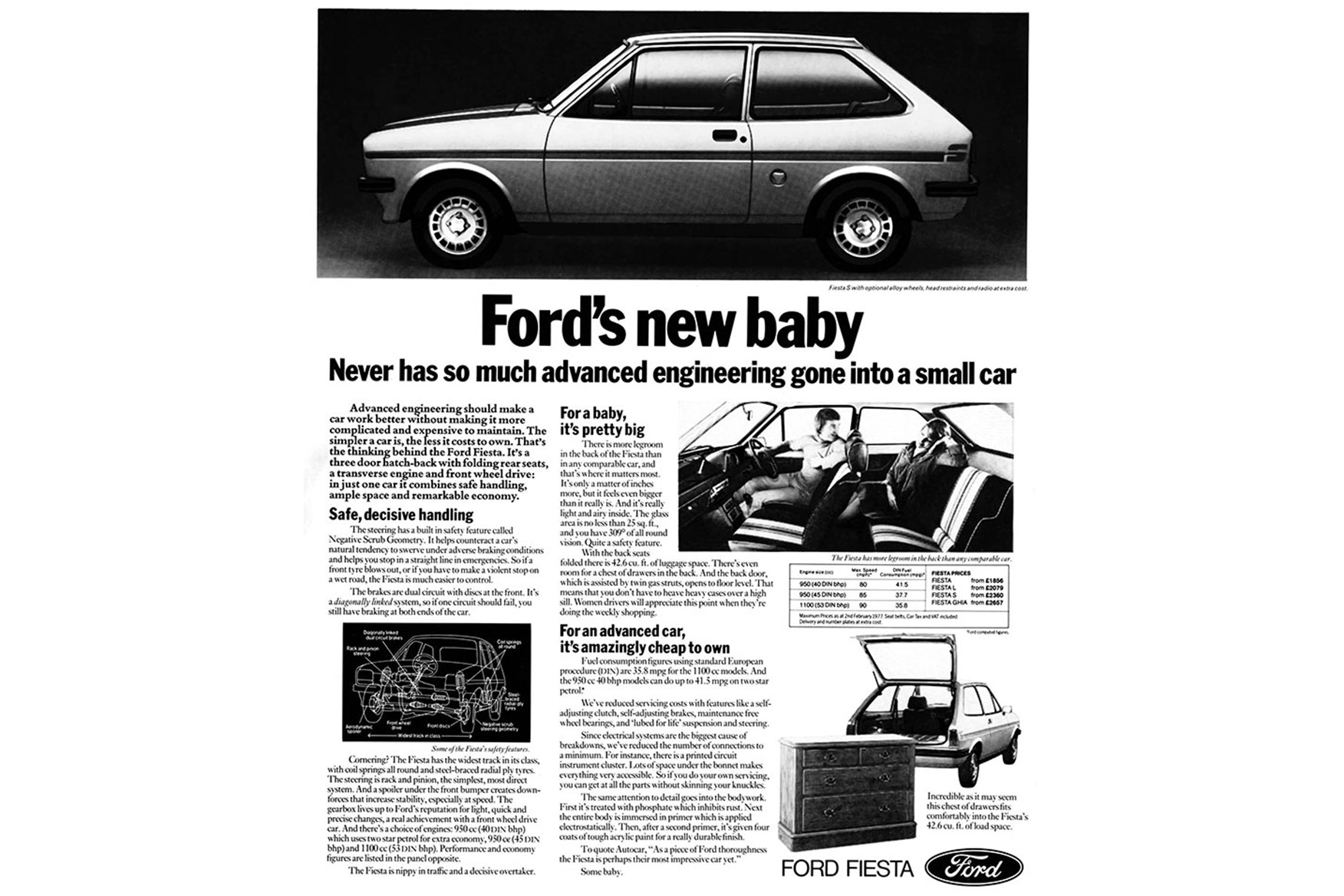 5) The first UK Fiestas could hardly be called firecrackers. Engine power outputs were equally diminutive with a choice of 40 45 or 53bhp at launch.  sc 1 st  Car Magazine & Ford Fiesta through the years: the ups and downs of the Blue ... markmcfarlin.com