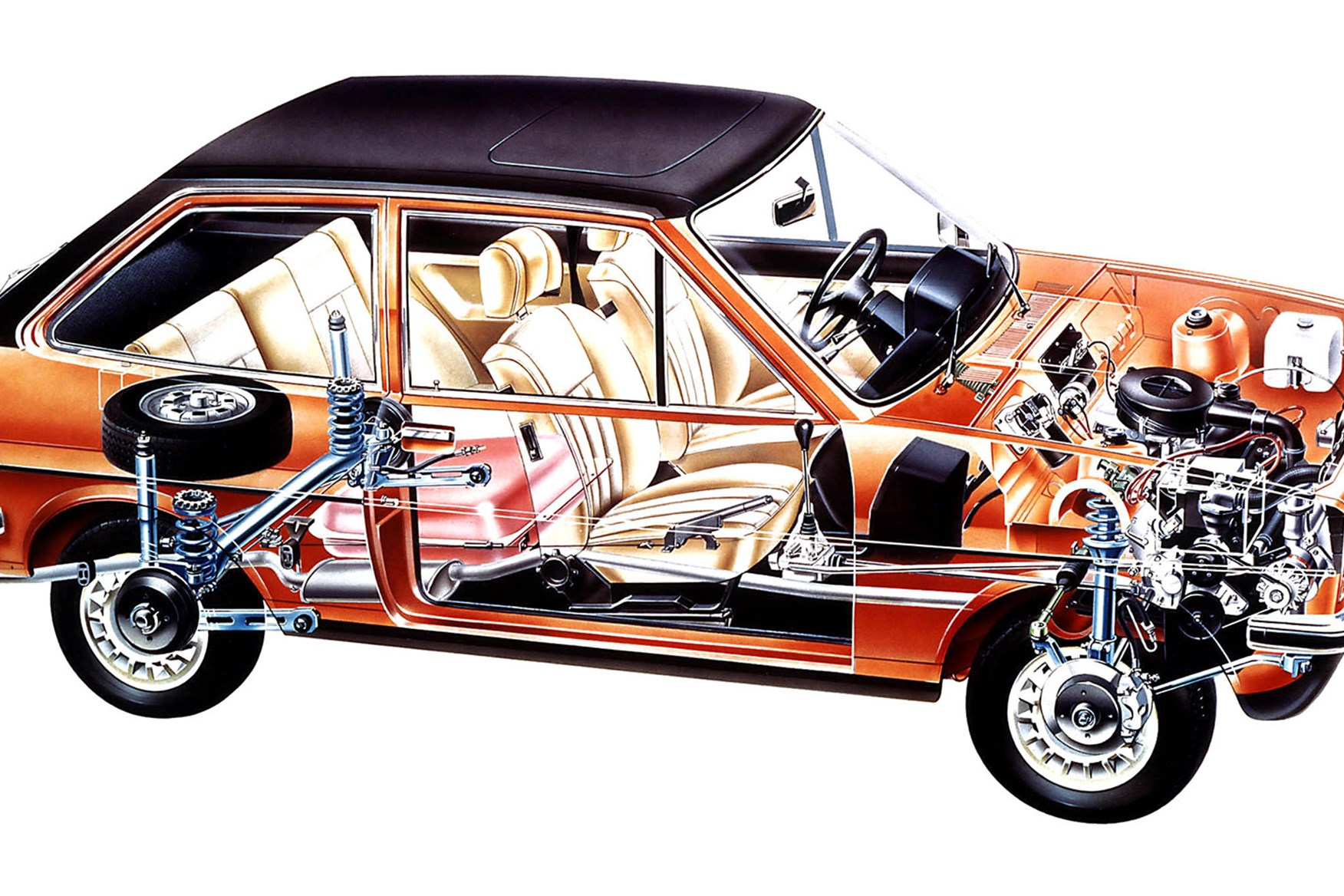 Of course they applied lashings of beige and orange and strange velour trim everywhere. This 1977 customised Ford Fiesta was a special sadly ...  sc 1 st  Car Magazine & Ford Fiesta through the years: the ups and downs of the Blue ... markmcfarlin.com