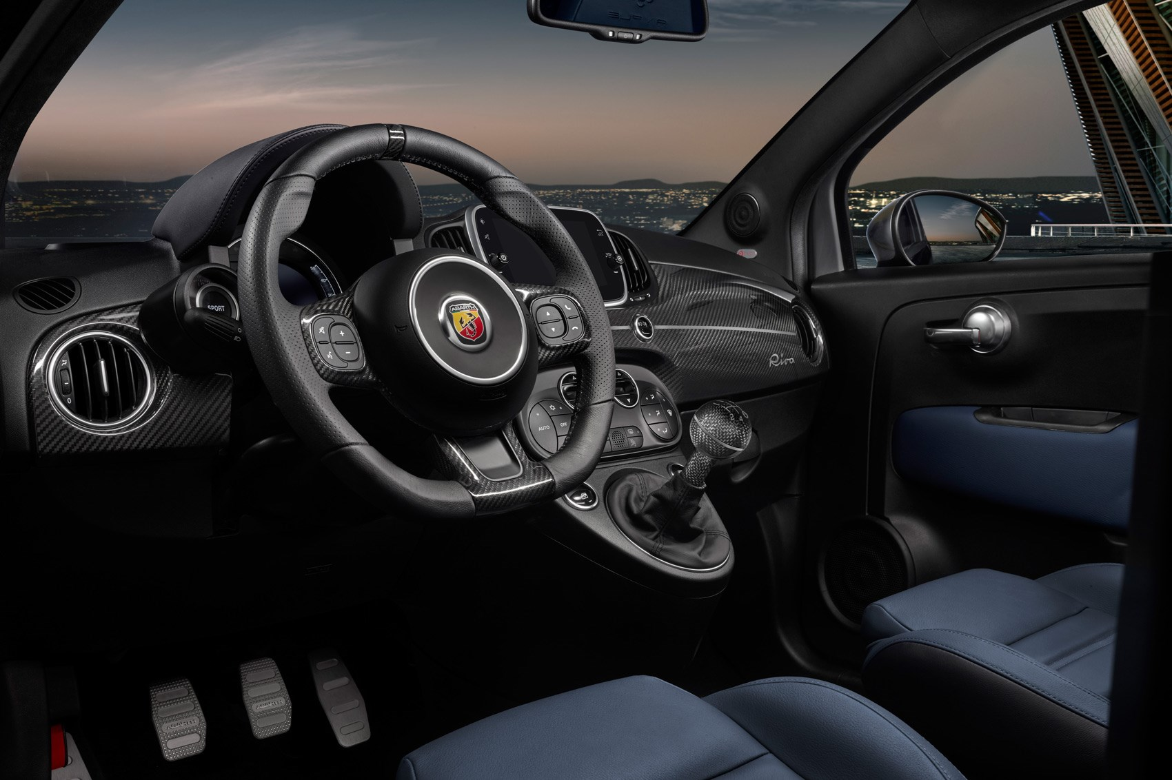boat tie in ahoy abarth 695 rivale is hot hatch of the seas by car magazine. Black Bedroom Furniture Sets. Home Design Ideas