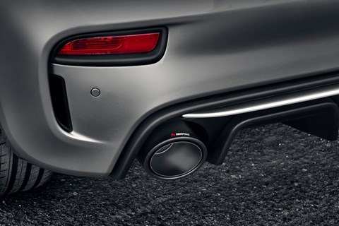 Abarth 695 Rivale exhaust