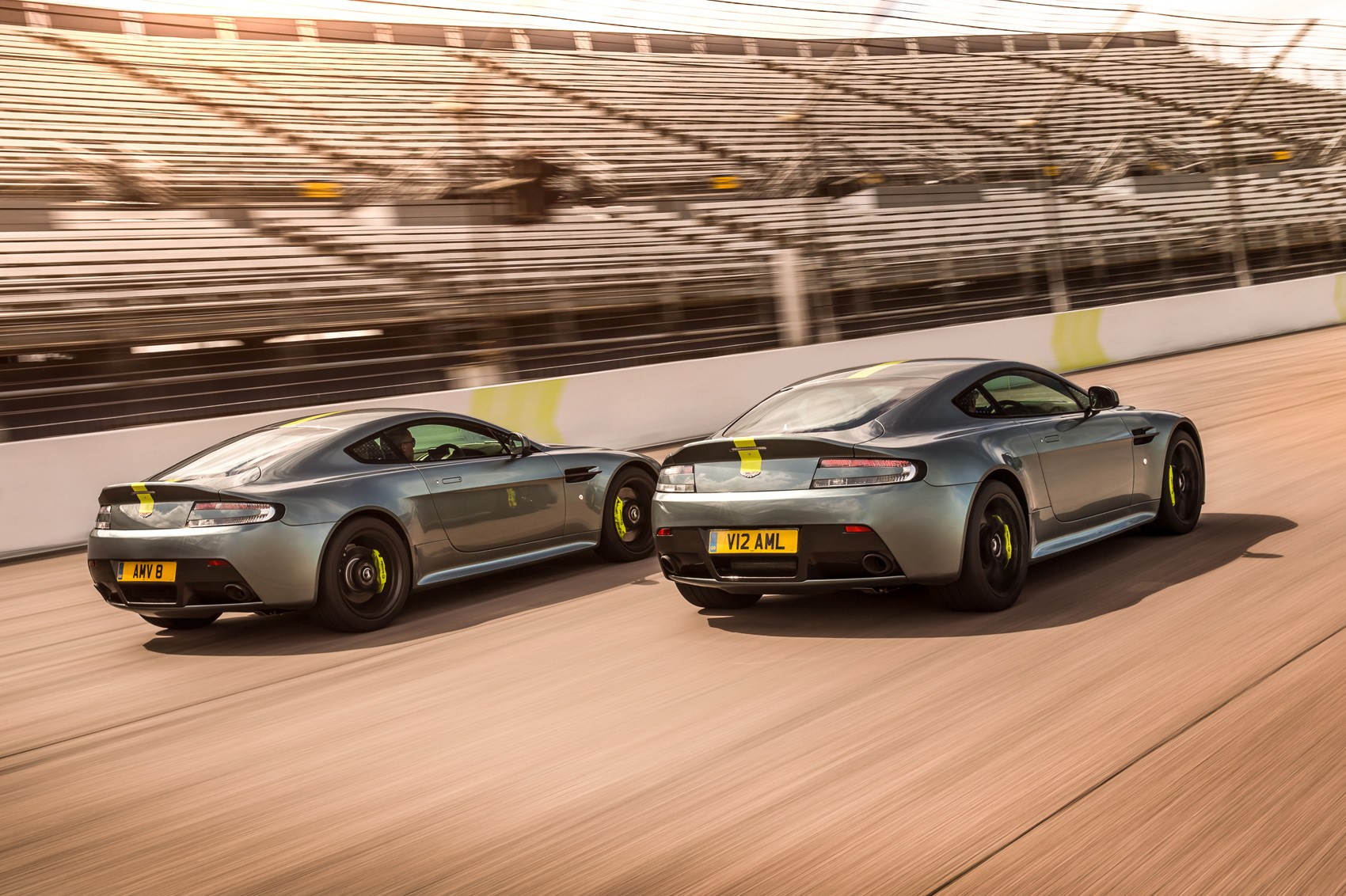 Aston Martin launches faster Vantage AMR