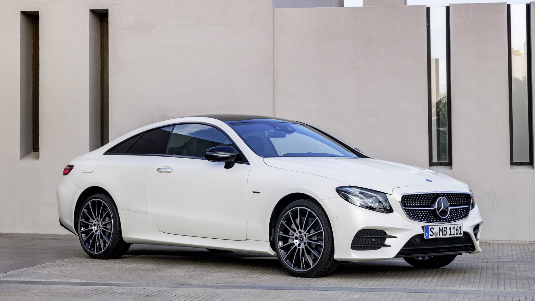 Mercedes E220d Coupe (2017) review by CAR Magazine
