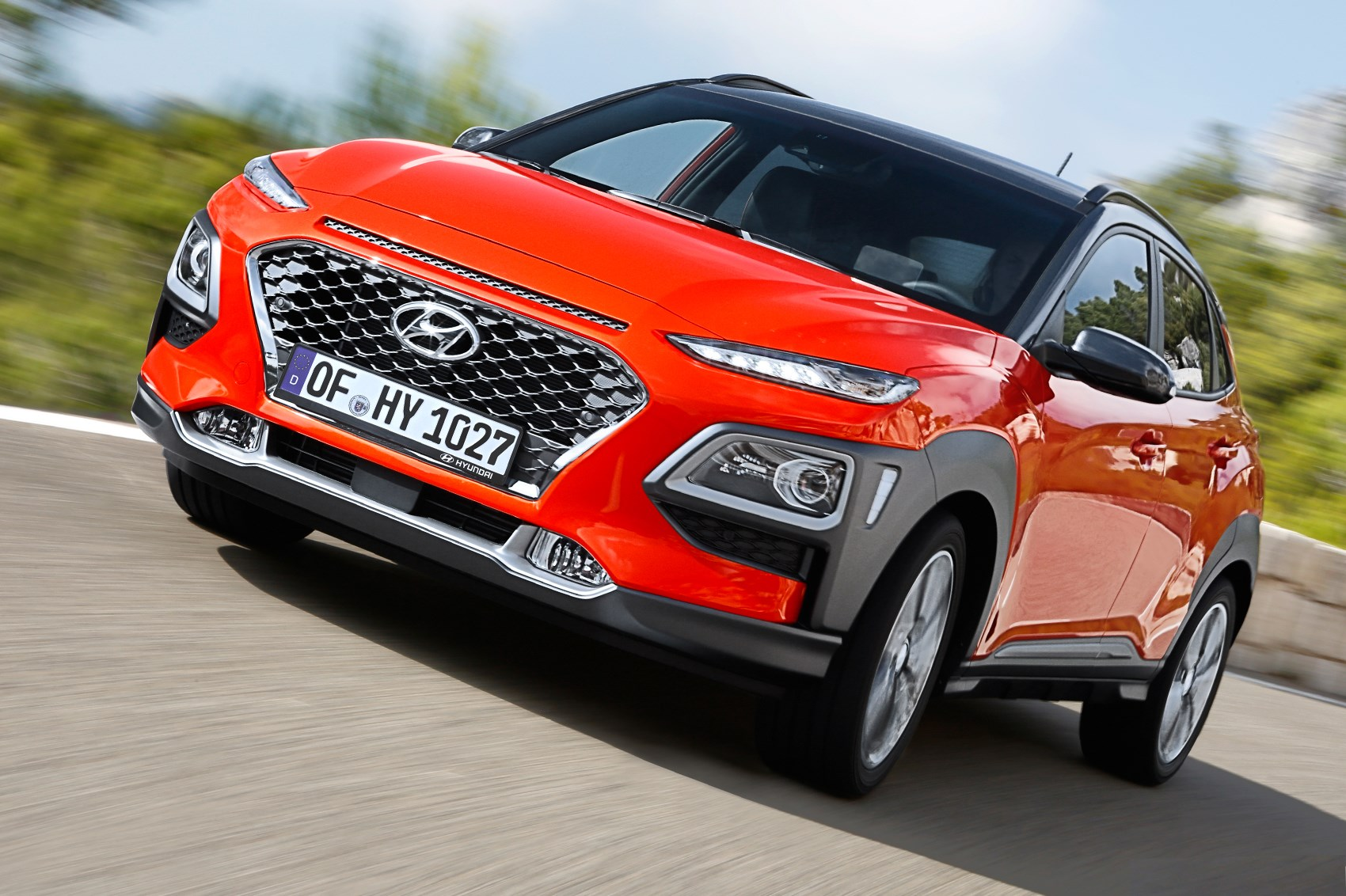 hyundai kona suv 2017 review car magazine. Black Bedroom Furniture Sets. Home Design Ideas