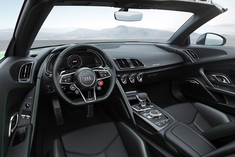 Audi R8 Spyder V10 Plus interior