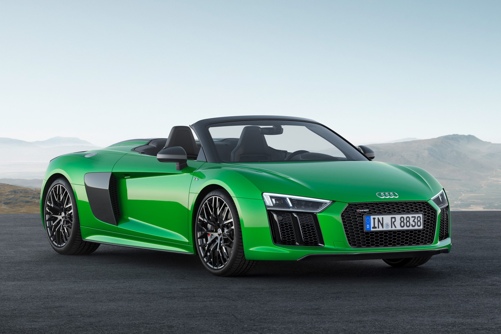 The Hulk goes topless: new Audi R8 Spyder V10 Plus ...