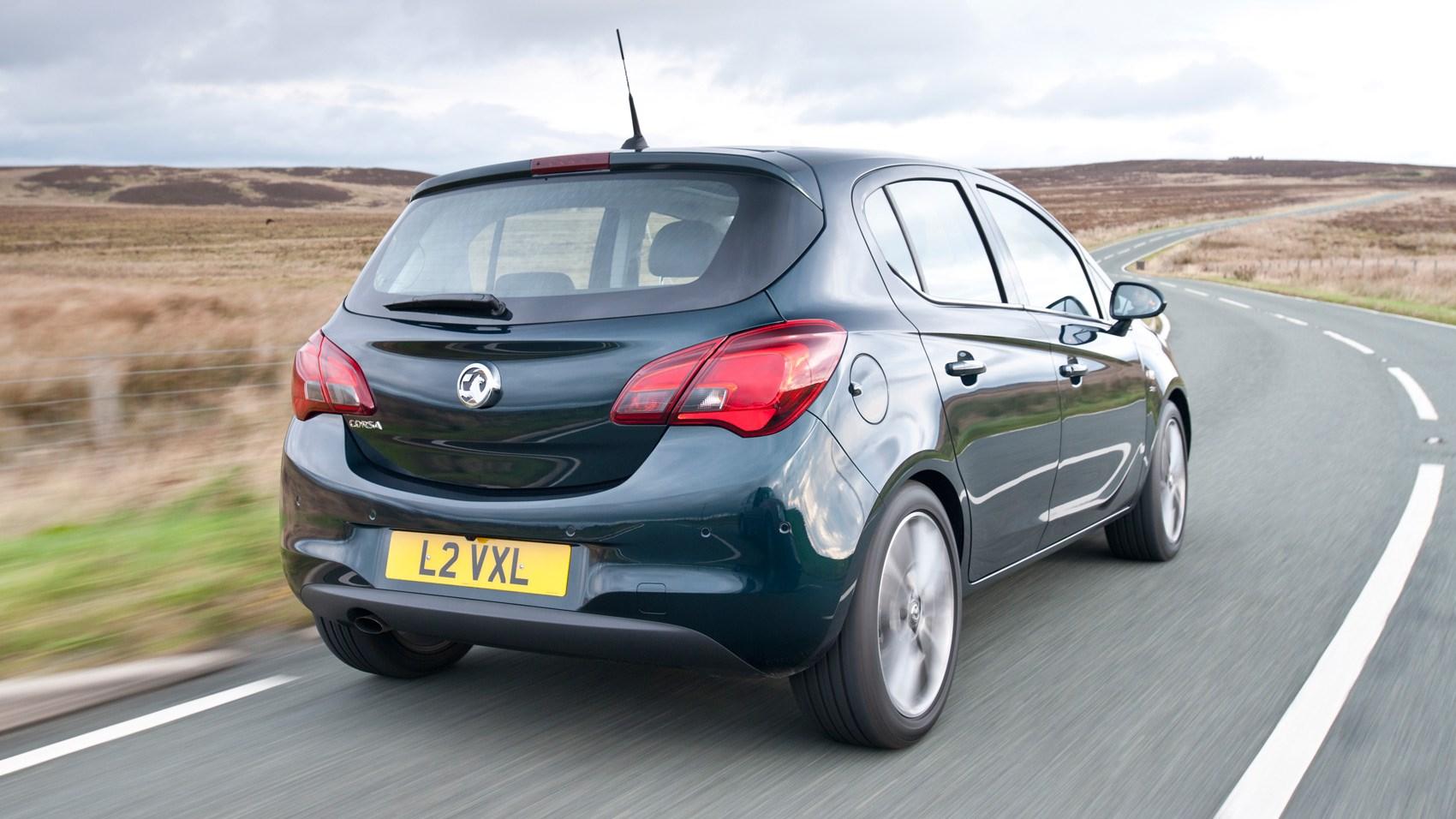 Vauxhall Corsa diesel rear cornering
