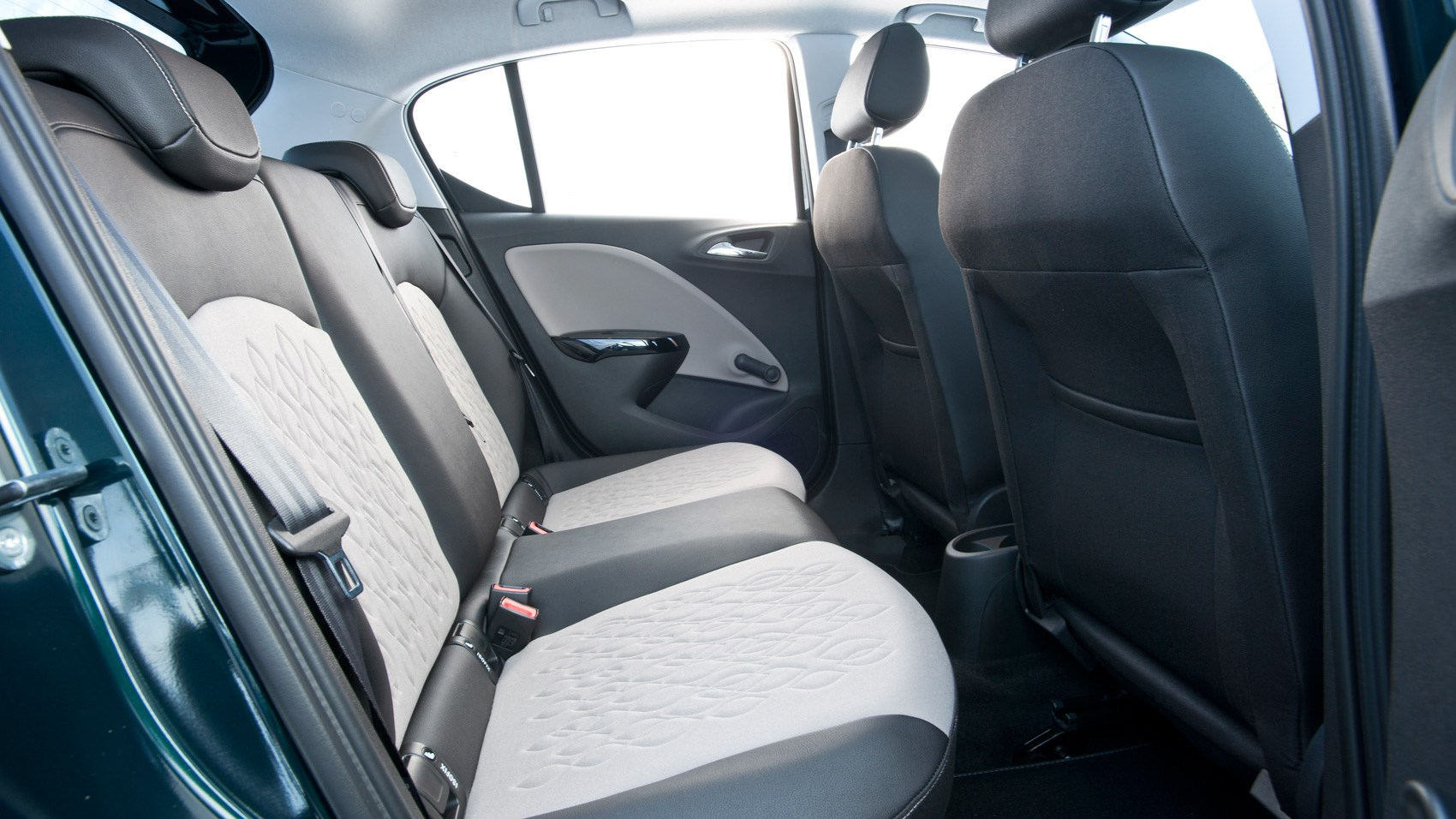 Vauxhall Corsa diesel rear seats