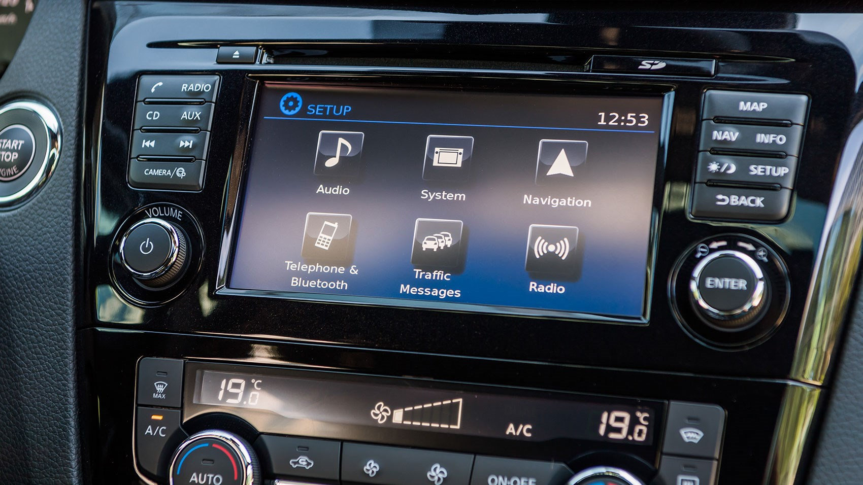 App-style interface for new NissanConnect touchscreen infotainment system