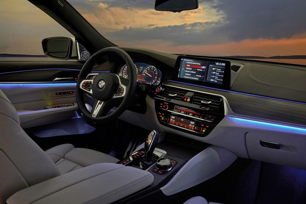 BMW 6 Series GT Interior