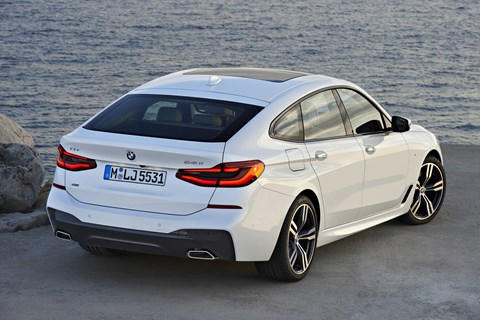 BMW 6 Series GT rear quarter