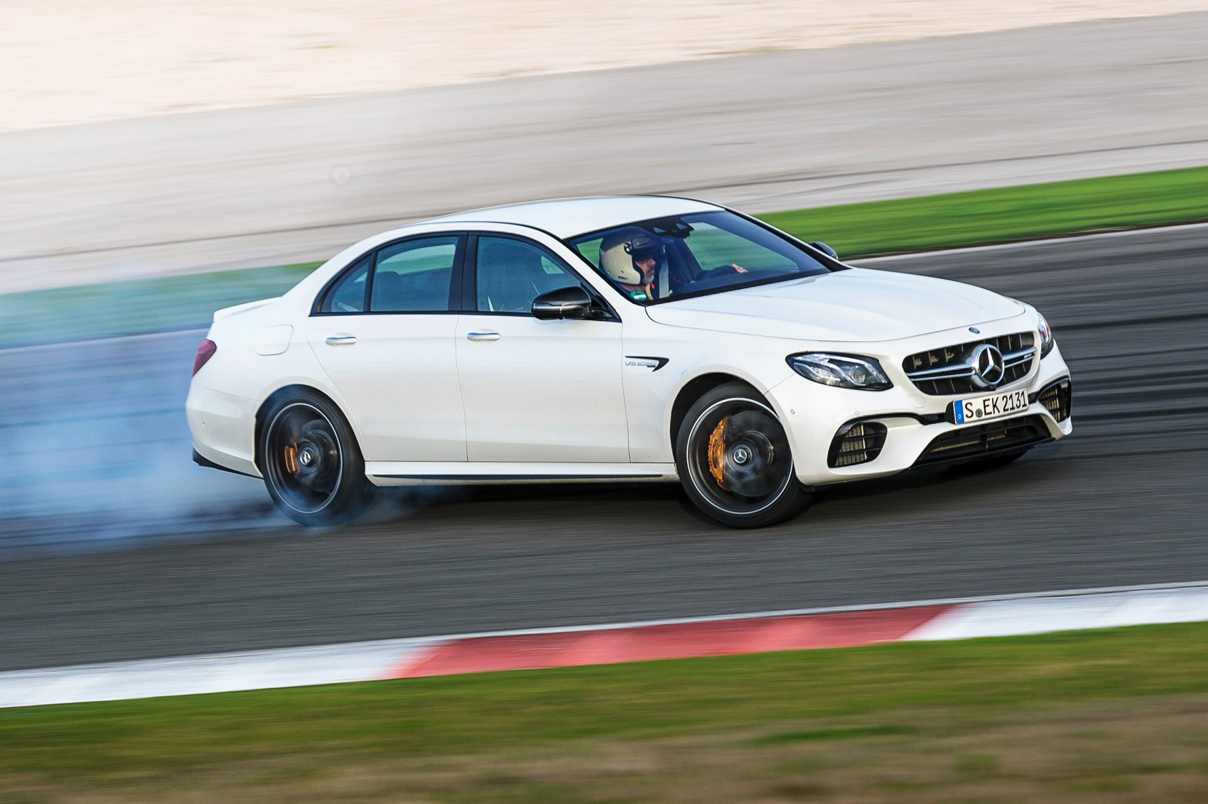 How Does A Diesel Engine Work >> Does it work? Mercedes-AMG E63 S's drift mode tested by CAR Magazine