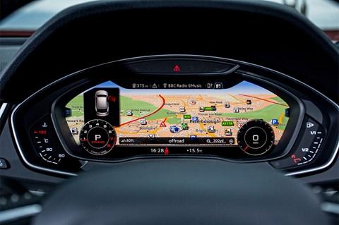 Audi Q5 LT virtual cockpit