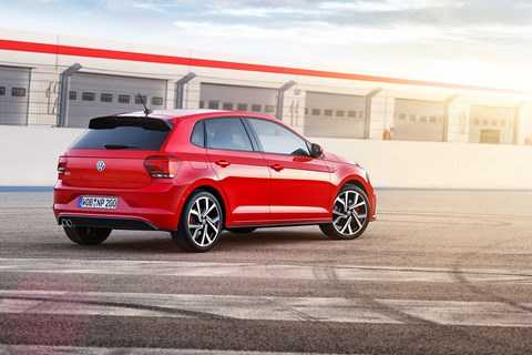 The new 2018 VW Polo GTI