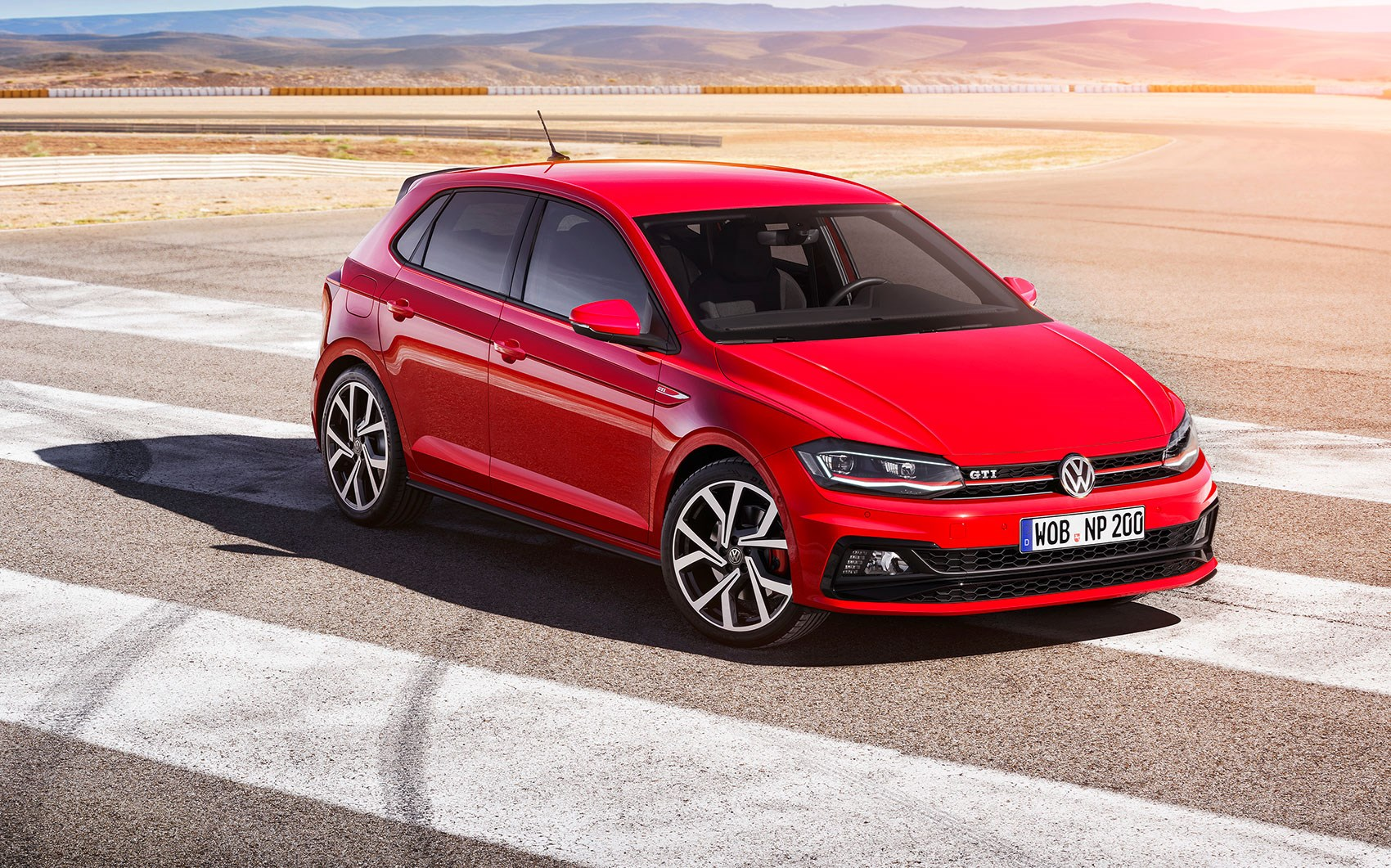 The new 2018 VW Polo GTI ...