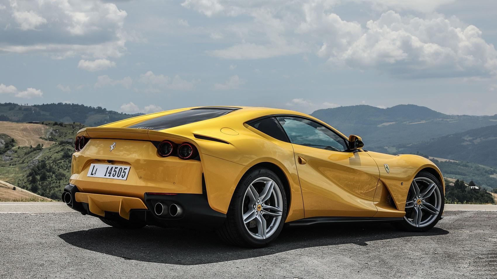 Ferrari 812 Superfast 2017 Review Car Magazine