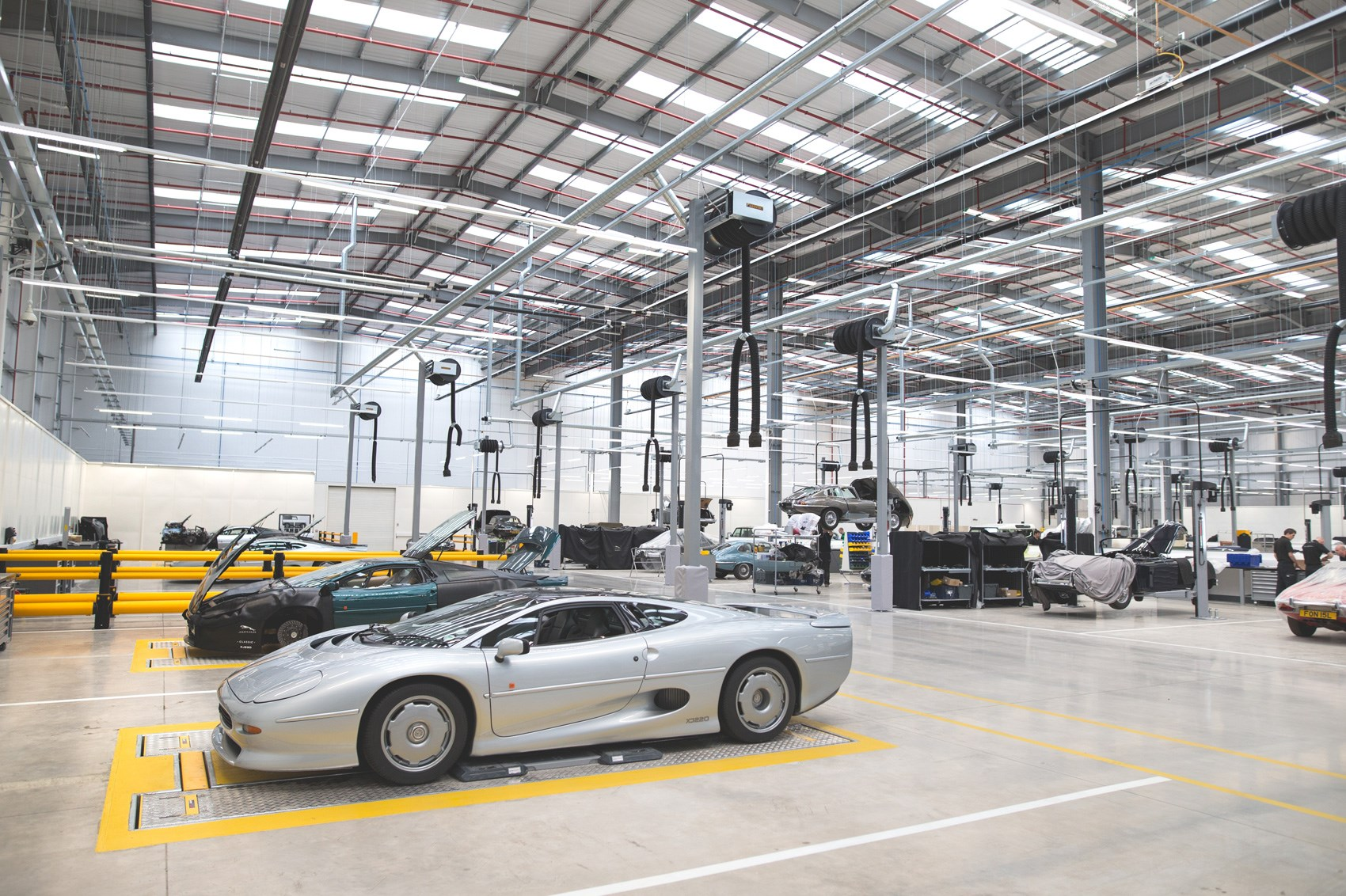 Time Travel Agents Jaguar Land Rovers New Classic Works HQ By - Jag land rover