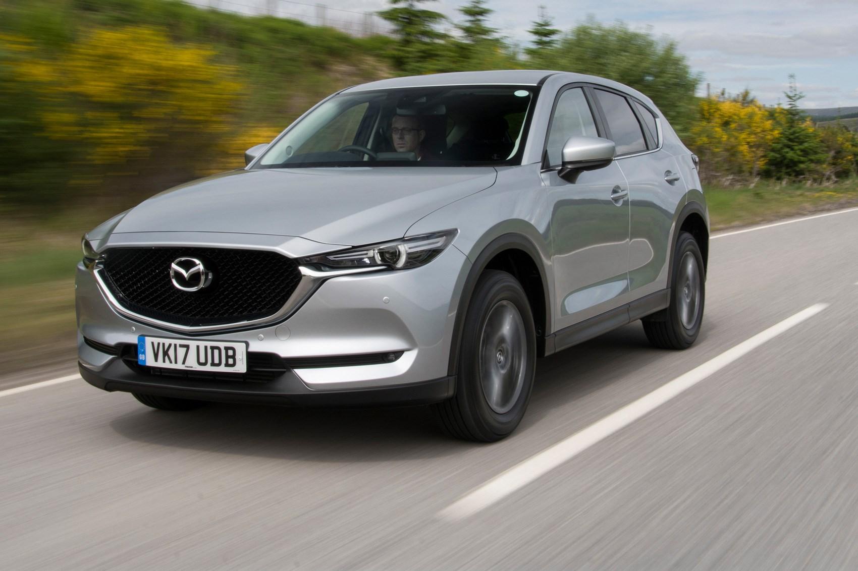 Mazda CX 5 2 2d 150 Sport Nav 2017 review by CAR Magazine