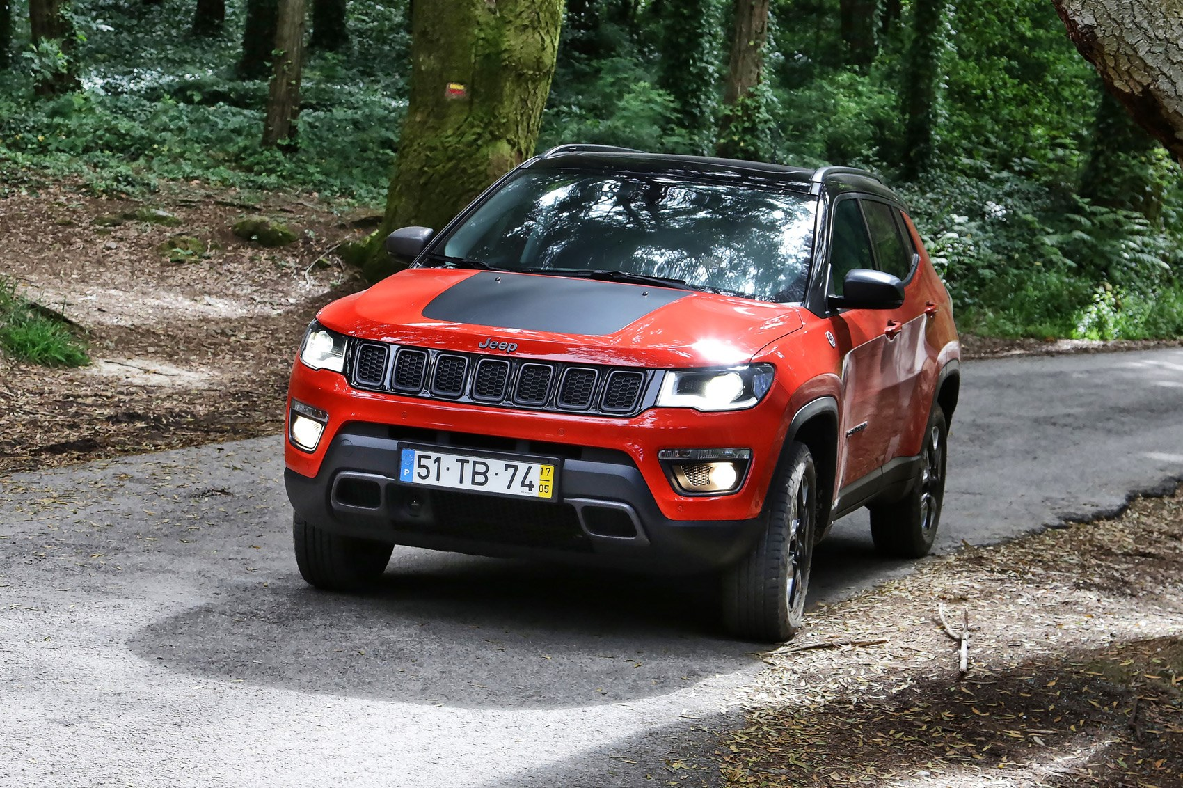 jeep compass trailhawk 2017 review by car magazine. Black Bedroom Furniture Sets. Home Design Ideas