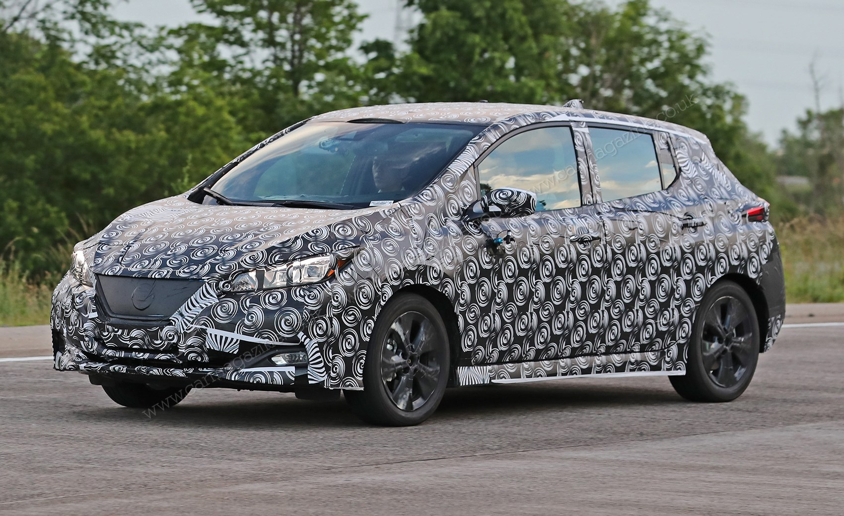 Nissan Leaf due for reveal in September with Propilot autonomy