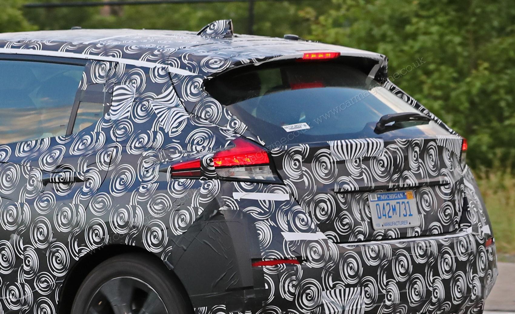 New 2018 Nissan Leaf spy photos | CAR Magazine