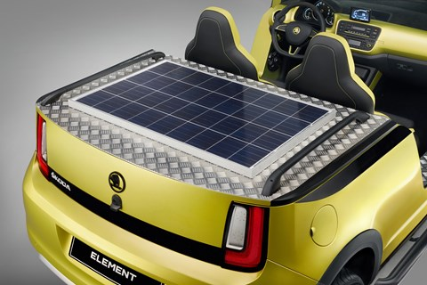 Skoda Element solar cell