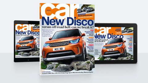 CAR magazine, January 2017 cover