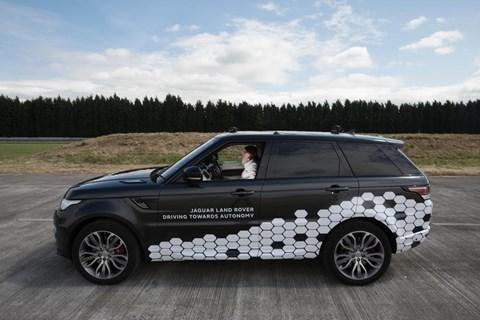 Range Rover Sport Autonomous Urban Drive profile