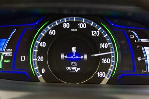 Honda i-MMD hybrid system