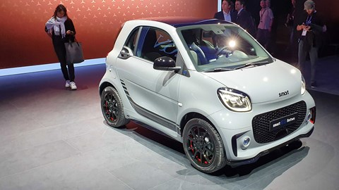Smart ForTwo EQ at the 2019 Frankfurt motor show