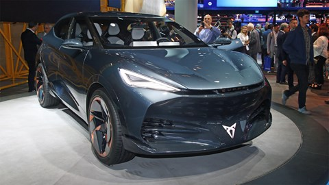 Cupra Tavascan concept at the 2019 Frankfurt motor show