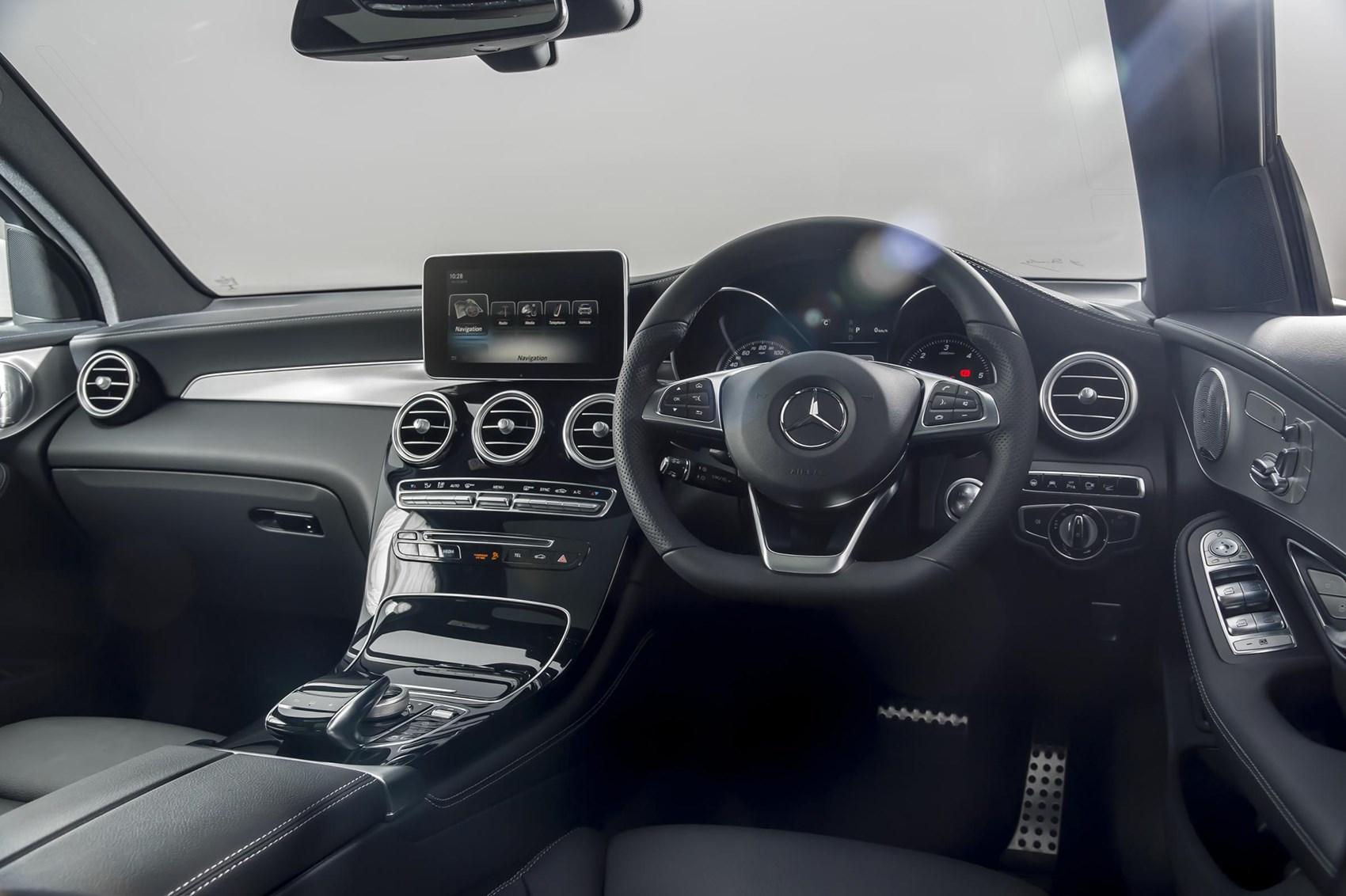 Mercedes-Benz GLC 350d SUV interior and cabin