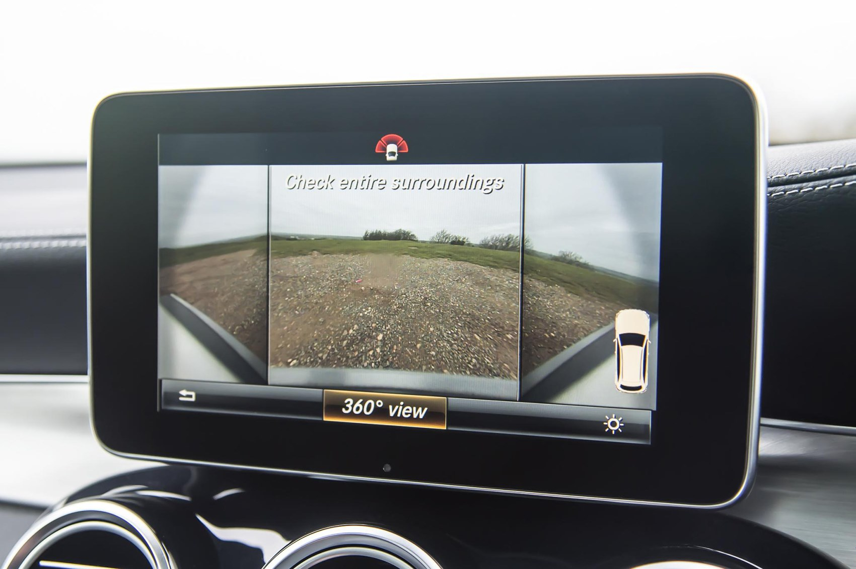 360-degree parking camera a boon for tight spaces