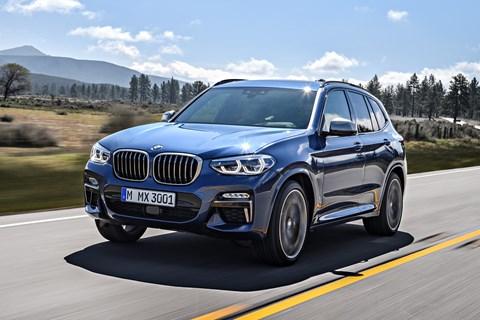 BMW X3 M40i front tracking