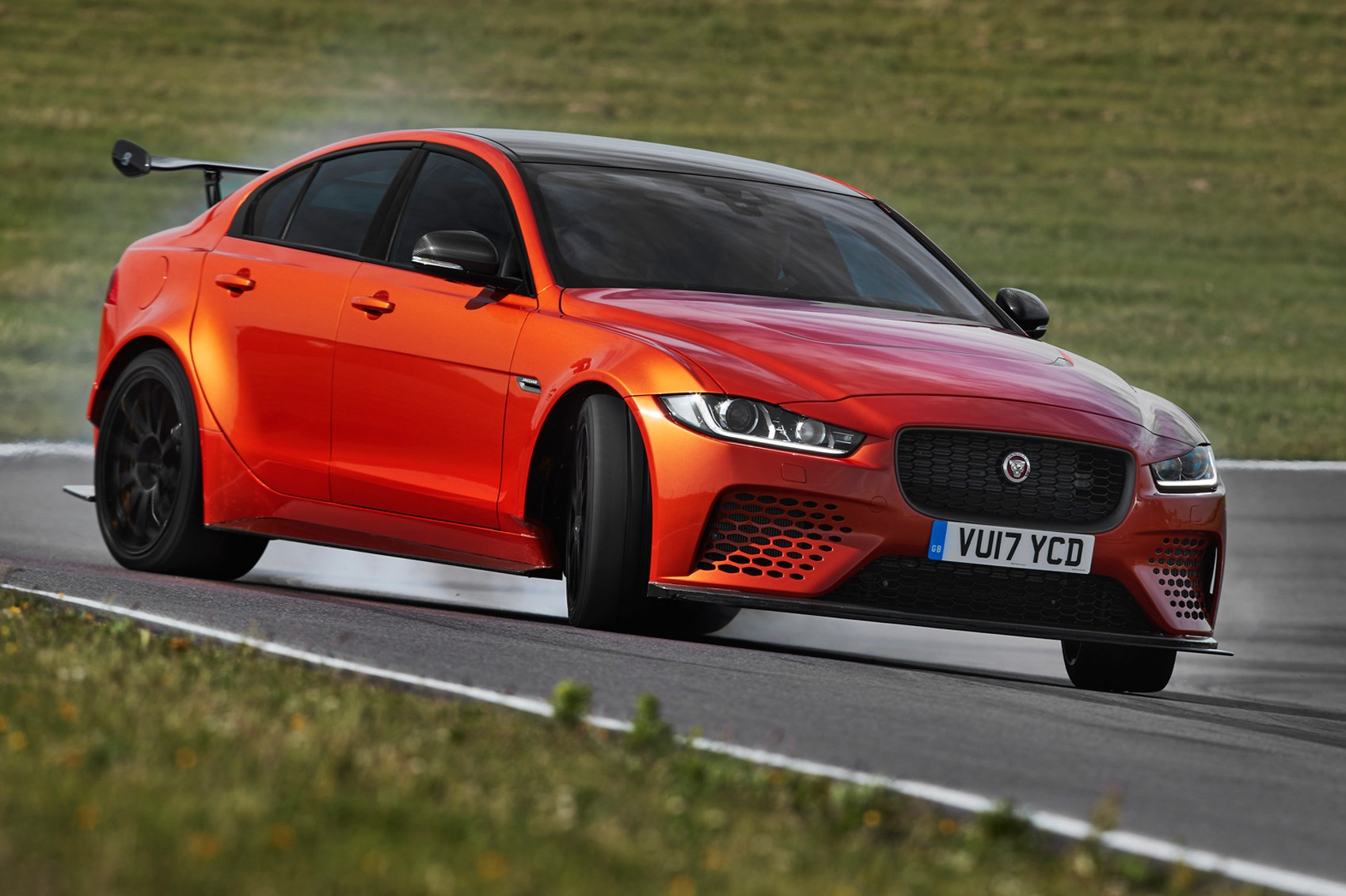 High-performance Jaguar XE SV Project 8 revealed