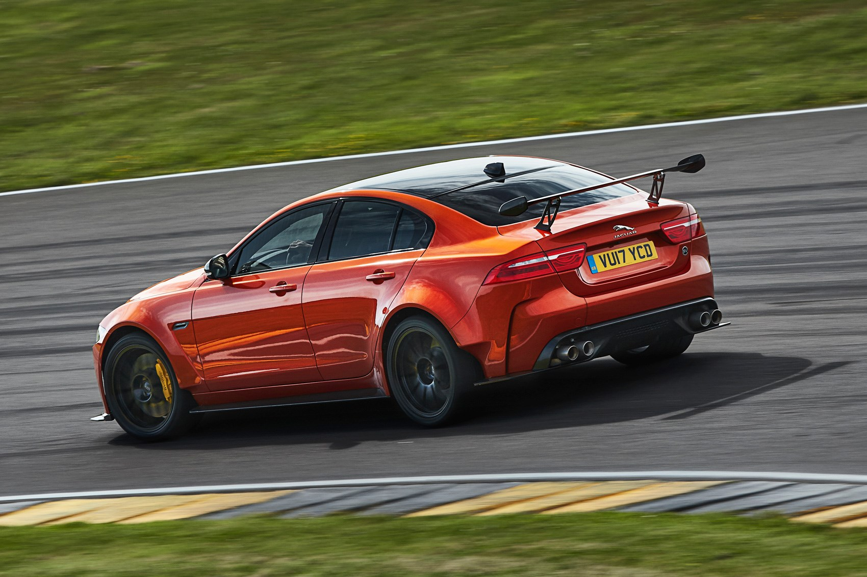 jaguar xe sv project 8 the 150k saloon that thinks it 39 s a supercar by car magazine. Black Bedroom Furniture Sets. Home Design Ideas