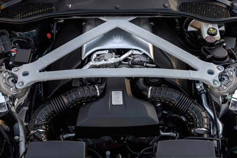 Aston Martin DB11 V8 engine