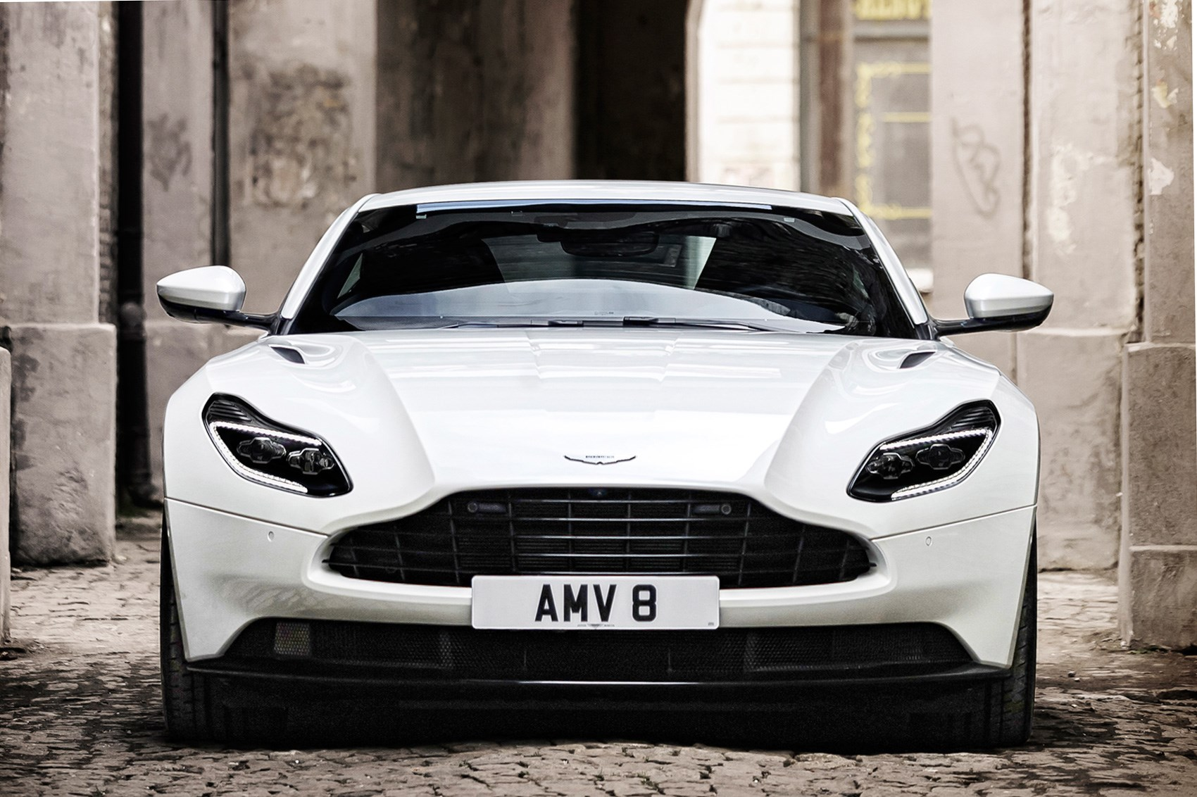 aston martin db11 gets a v8 mate: 4.0 amg engine joins range | car
