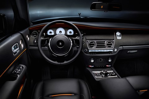 Rolls-Royce Dawn Black Badge interior