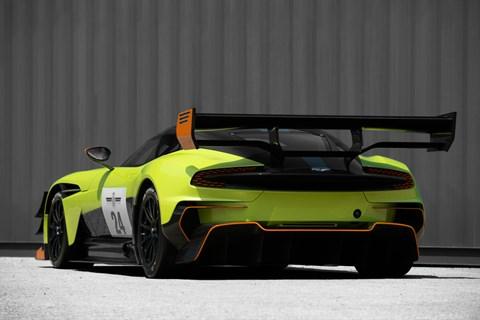 Aston Martin Vulcan AMR Pro rear quarter
