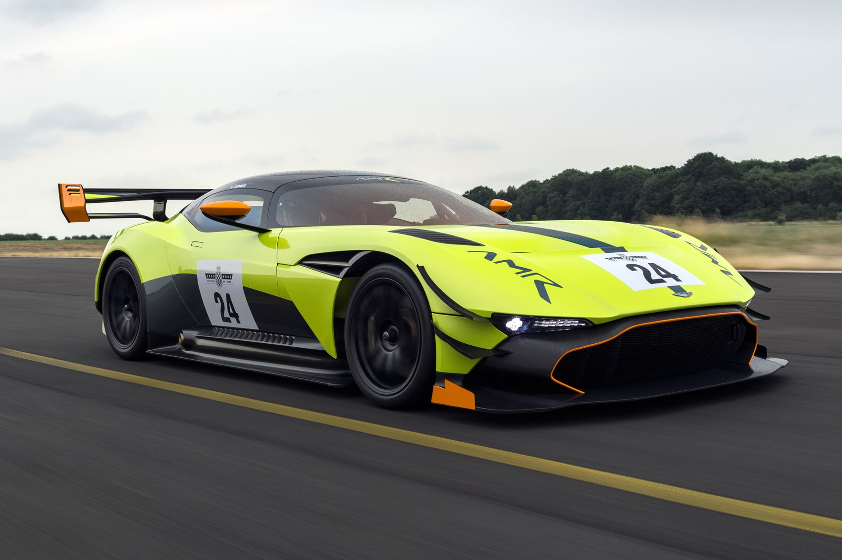 More Downforce, Sir? Aston Martin Vulcan AMR Pro Debuts At