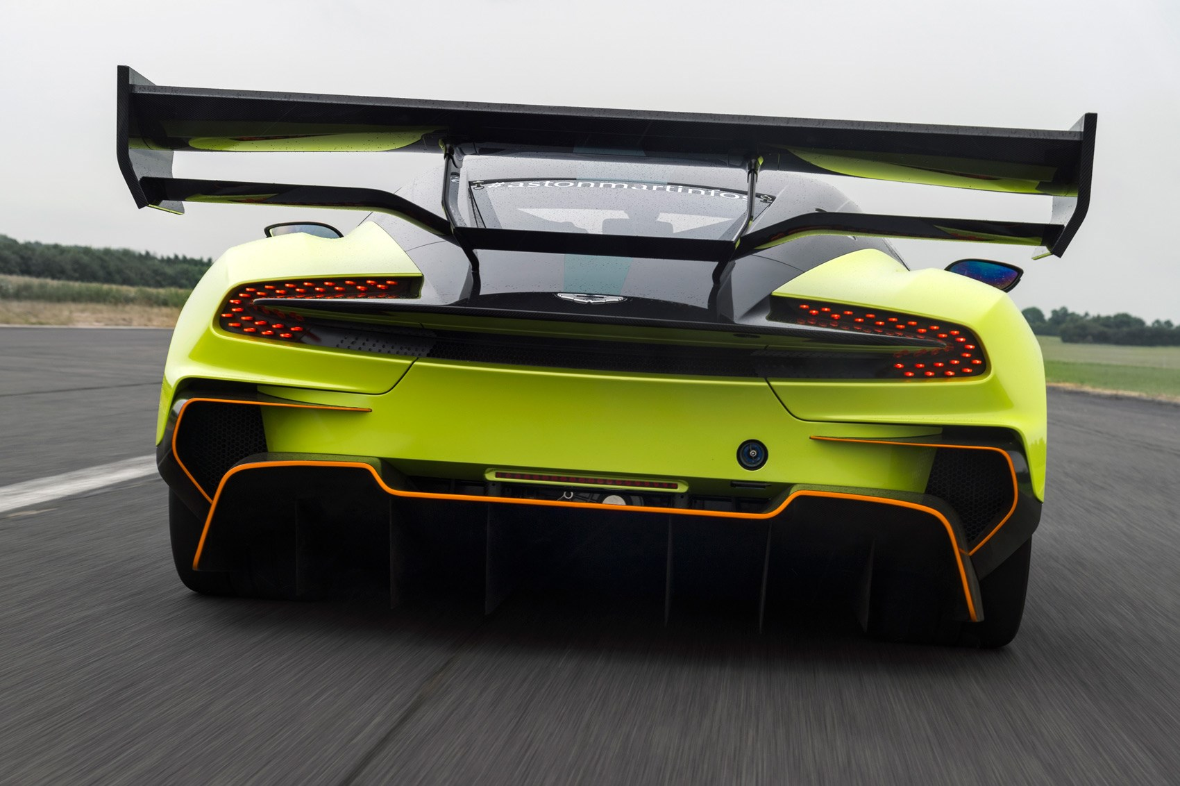 More Downforce Sir Aston Martin Vulcan Amr Pro Debuts At Goodwood
