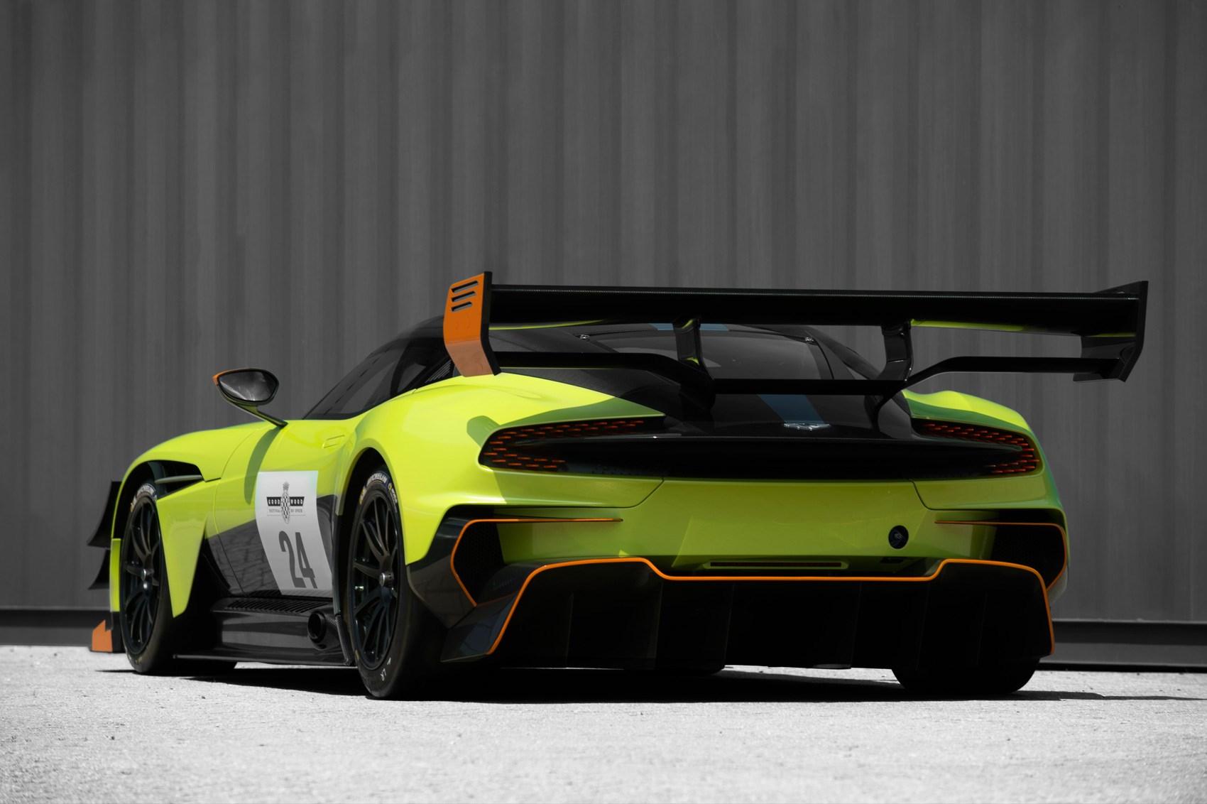 More downforce, sir? Aston Martin Vulcan AMR Pro debuts at