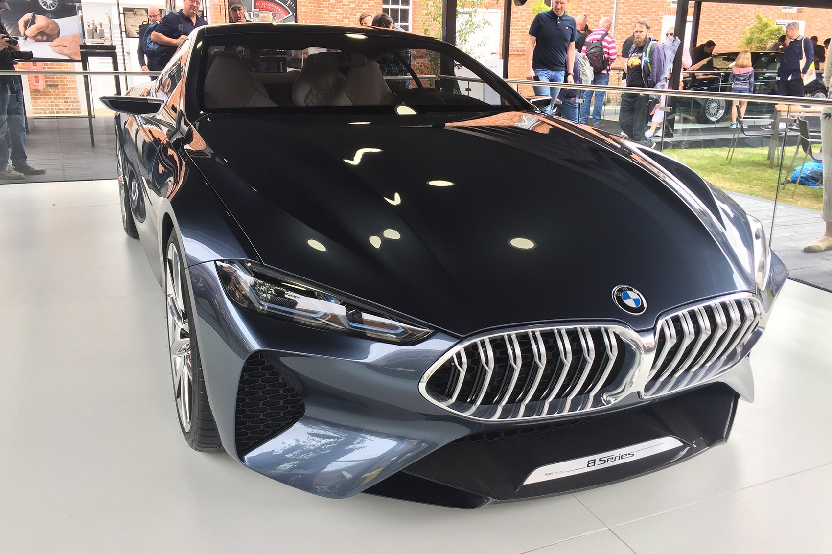 You are here shop home gt gt categories gt gt motorsport gt gt goodwood - Bmw 8 Series Concept Designer John Buckingham Talks Us Through His Creation It S By No Means Aggressive But It Does Look Focused