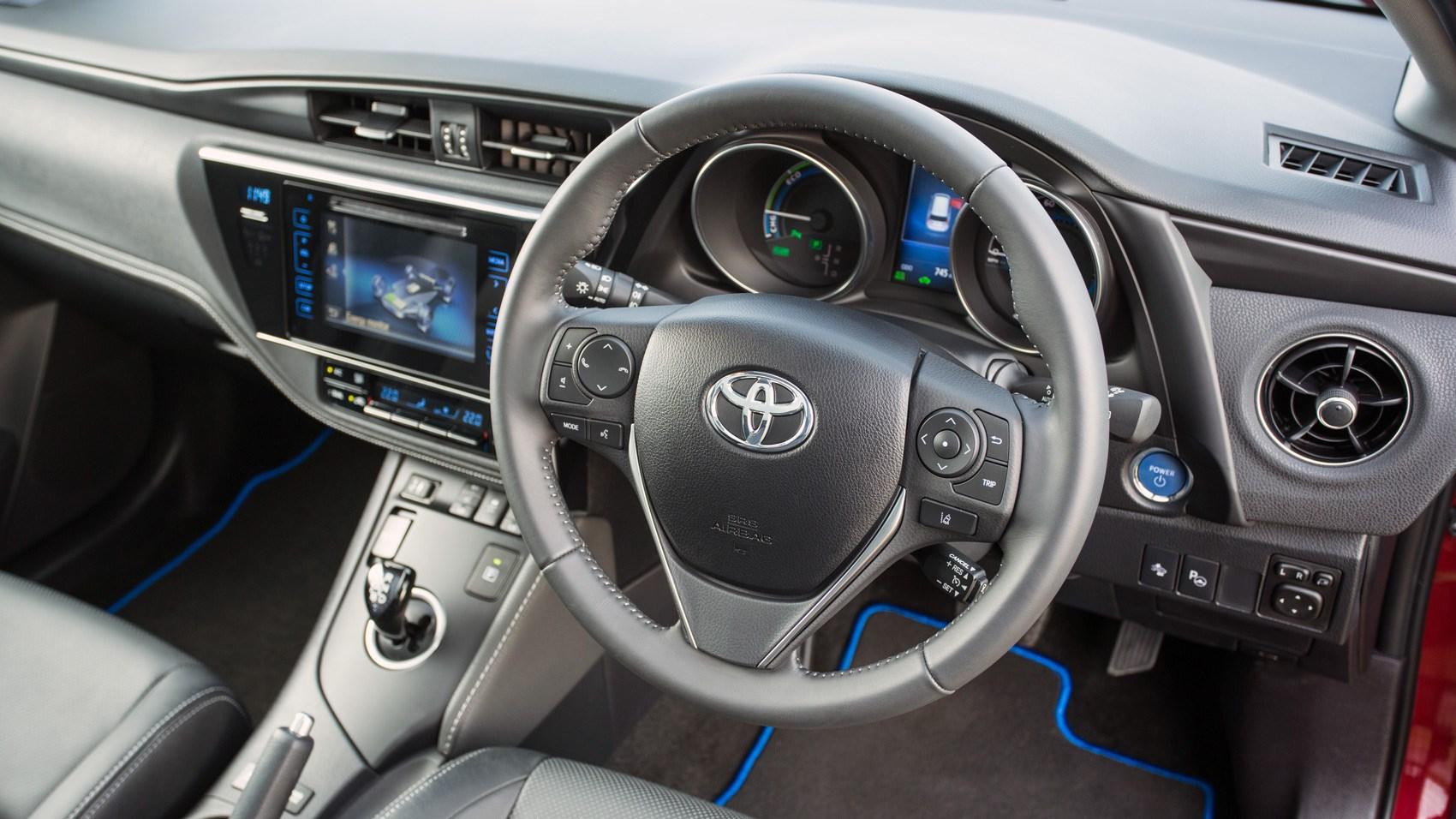 Toyota auris hybrid 2017